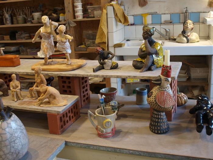 Journées du patrimoine 2018 - Visite de l'atelier de l'association