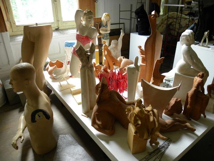 Journées du patrimoine 2018 - Visite de l'atelier du sculpteur Pierre Vallauri