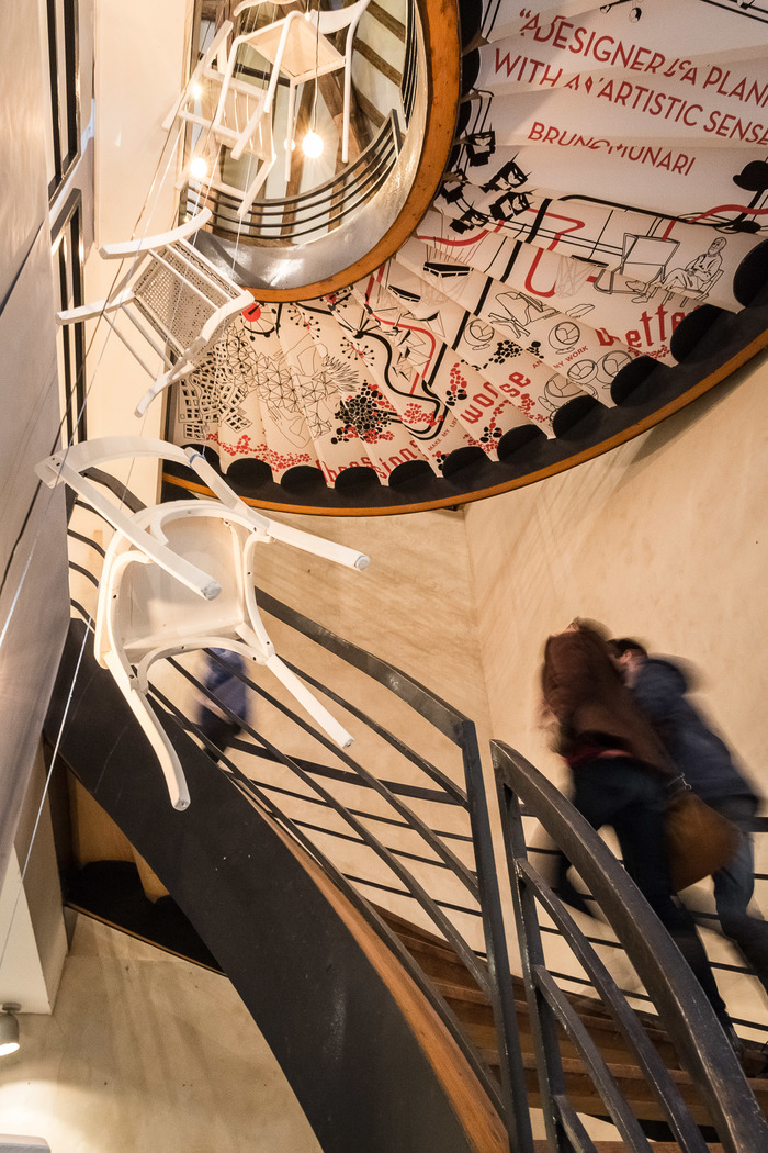 Crédits image : Escalier central - Photographie : Olivier Frajman