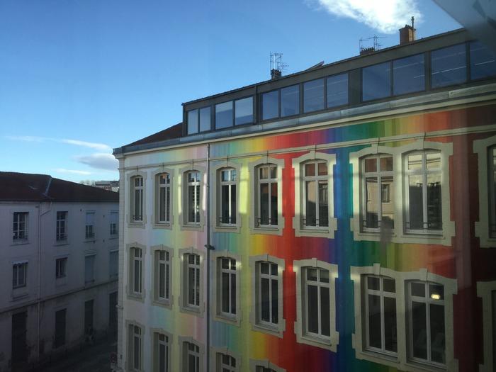 Journées du patrimoine 2018 - Visite de l'école d'architecture de Saint-Etienne par les étudiants.