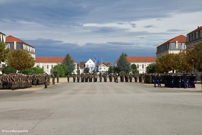 Journées du patrimoine 2018 - Visite de l'école de gendarmerie de Montluçon.