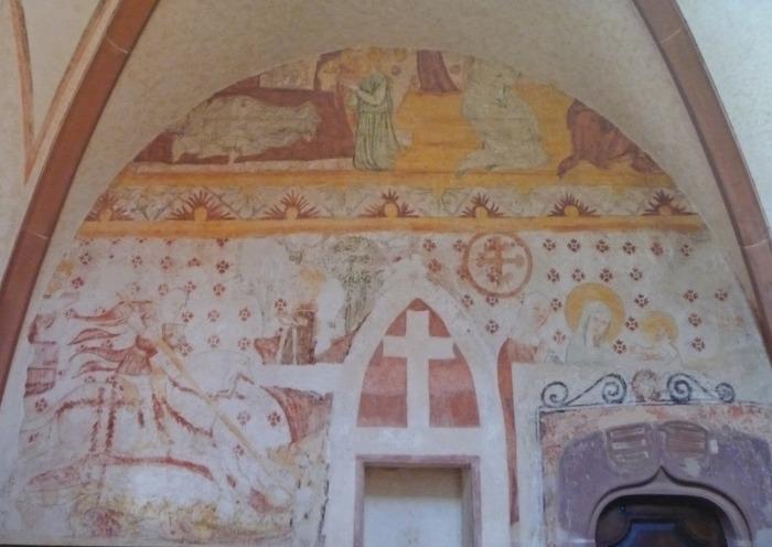 Journées du patrimoine 2018 - Visite de l'édifice et commentaires des peintures murales du XVIe siècle