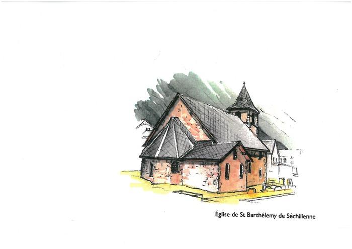 Journées du patrimoine 2018 - Visite libre de l'église de Saint-Barthélemy-de-Séchilienne.