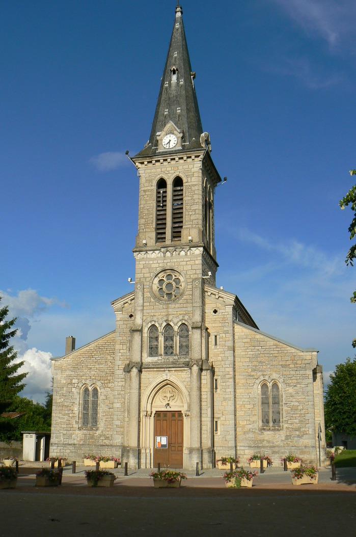 Journées du patrimoine 2018 - Visite libre de l'église de Béligneux.
