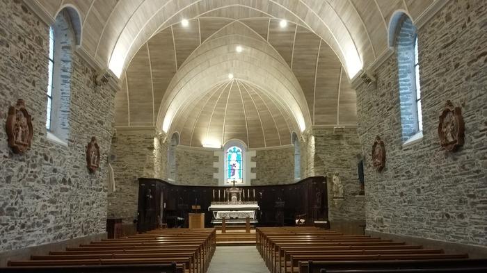 Journées du patrimoine 2018 - Visite de l'église de Guénouvry