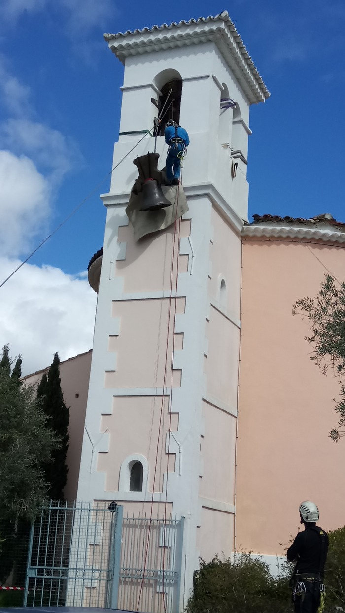 Journées du patrimoine 2018 - Visite de l'église de La Londe les Maures et de l'exposition sur la restauration de la cloche de 1872