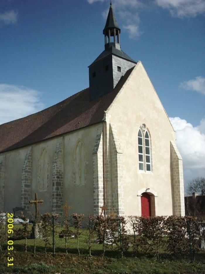 Crédits image : © Eglise de Martigny-sur-l'Ante