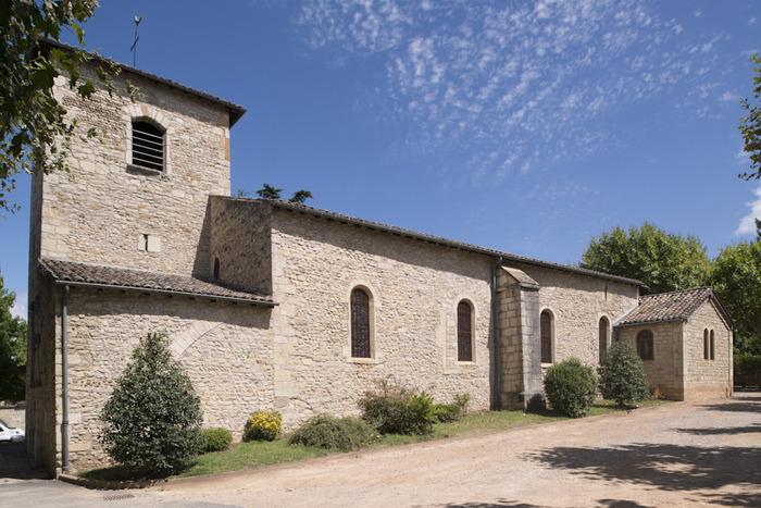 Journées du patrimoine 2018 - Visite de l'église de Saint-Bernard.