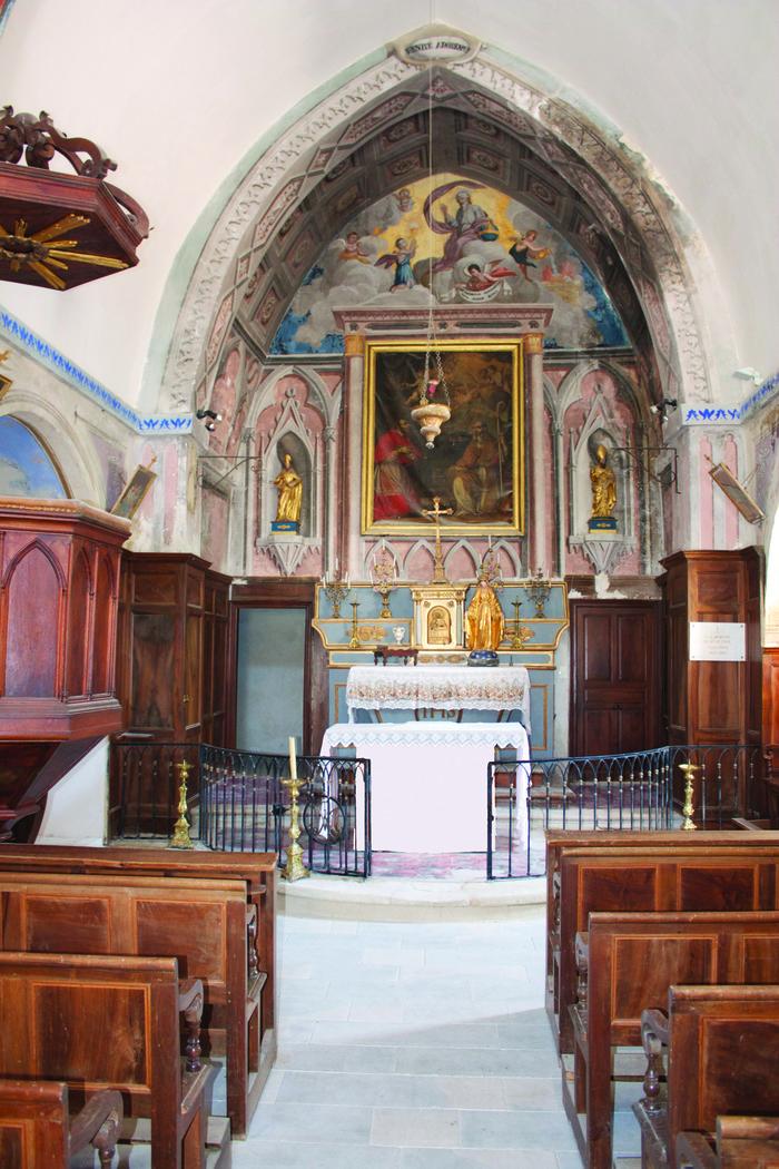 Journées du patrimoine 2018 - Visite de l'église de Saint-Léger du Ventoux