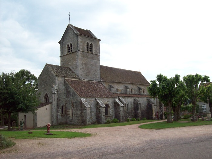 Journées du patrimoine 2018 - Visite de l'Église de Saint-Gervais-sur-Couches,  XIIIème siècle, classée aux Monuments Historiques
