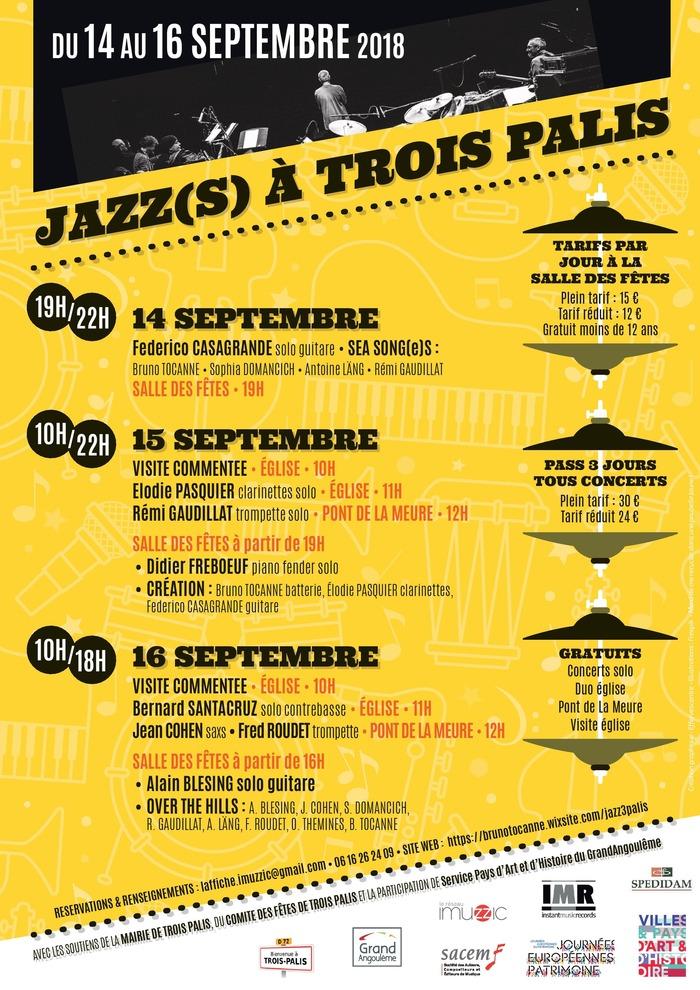 Journées du patrimoine 2018 - Festival Jazz(s)