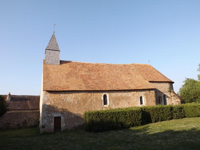 Journées du patrimoine 2018 - Visite de l'église de Villedieu (XII ème siècle) .  Visite du Village de Chantenay.