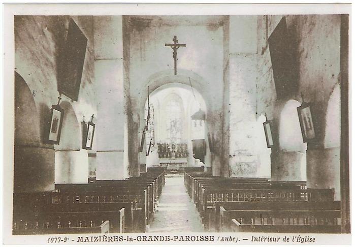 Journées du patrimoine 2018 - Viste de l'église Saint-Denis de Maizières-la-Grande-Paroisse