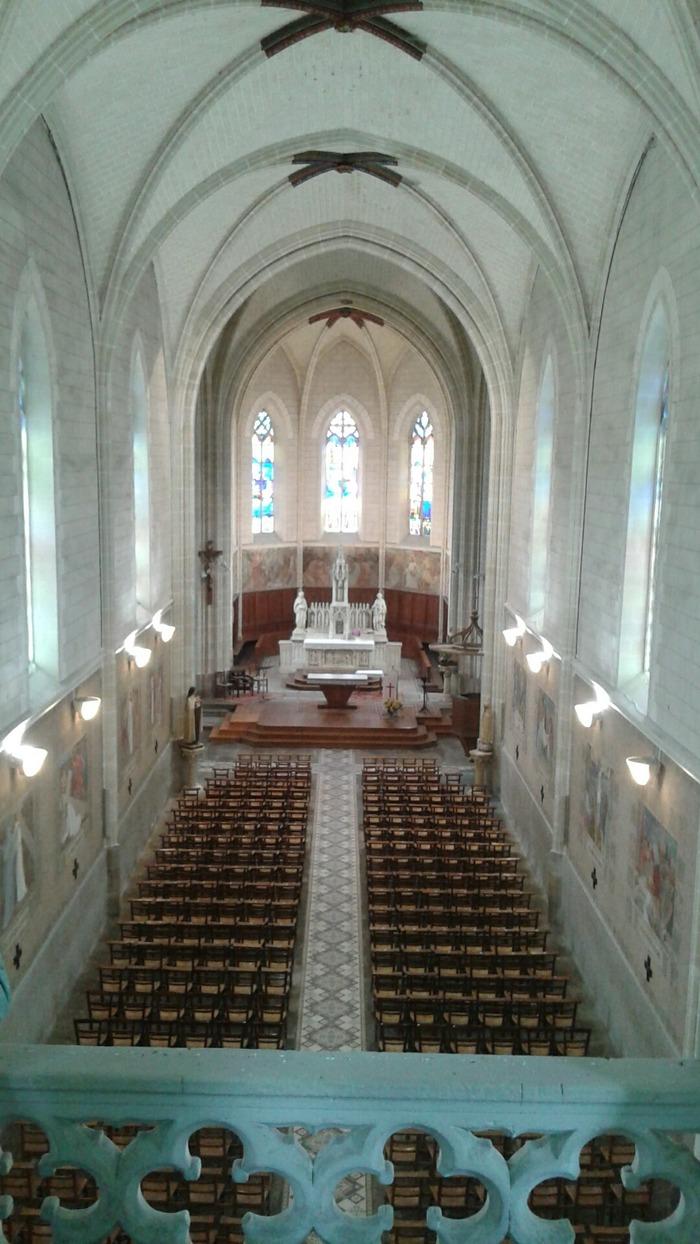 Journées du patrimoine 2017 - Visite de l'église Notre Dame de la Haye-Fouassière et ses secrets