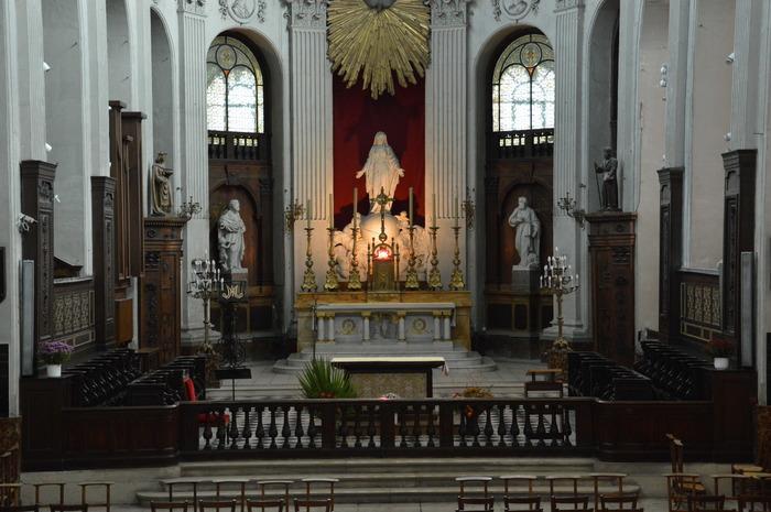 Journées du patrimoine 2018 - Visite de l'église Notre-Dame des Blancs-Manteaux