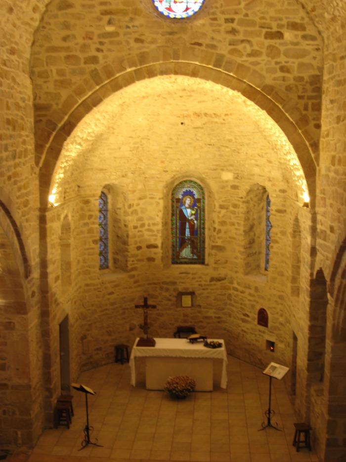 Journées du patrimoine 2018 - Visite guidée de l'église romane restaurée et exposition