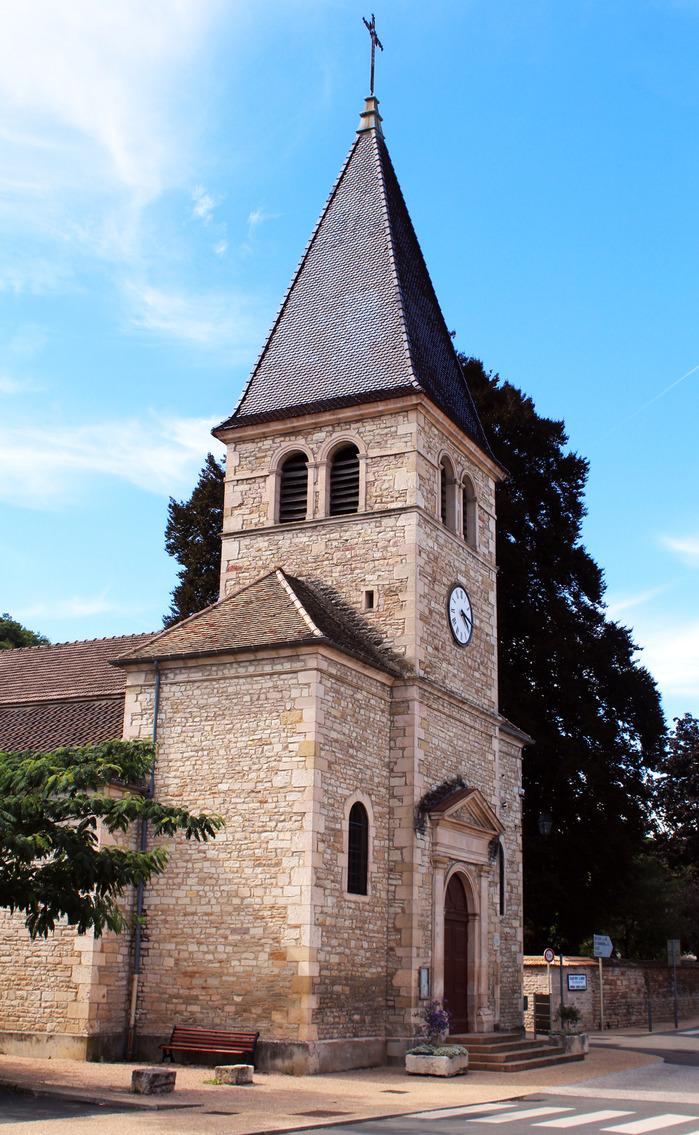Journées du patrimoine 2018 - Visite de l'église Saint-Denis de Lugny