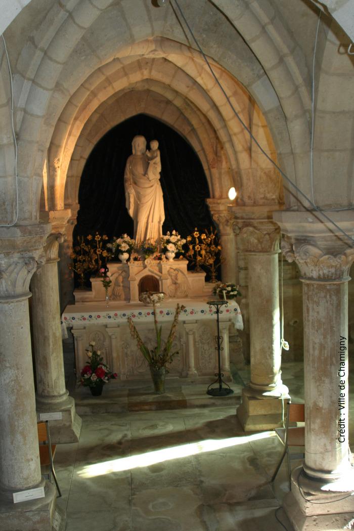 Journées du patrimoine 2018 - Visite de l'église Saint-Étienne et de la crypte de Chamigny
