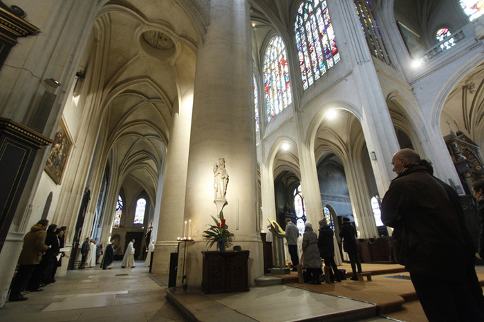 Visite de l'église Saint-Gervais