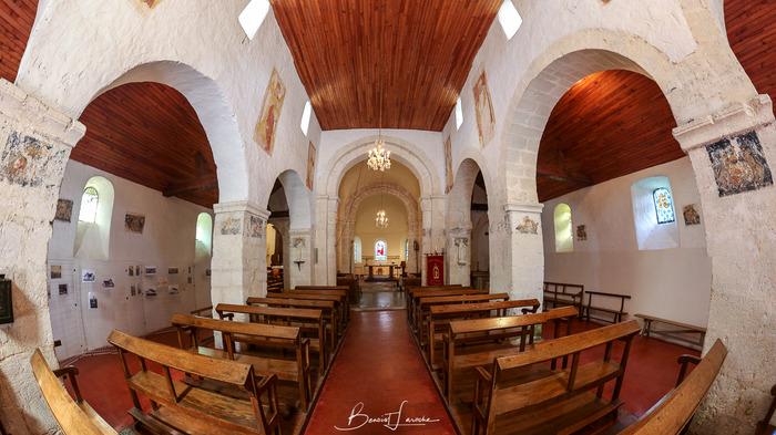 Journées du patrimoine 2018 - Visite de l'église Saint-Hubert