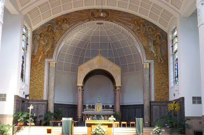 Journées du patrimoine 2018 - Etonnante église Sainte-Jeanne d'Arc