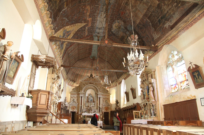 Journées du patrimoine 2018 - Visite libre de l'église Saint Pierre de Courcerault