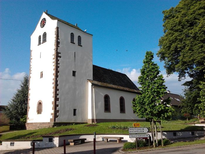 Journées du patrimoine 2018 - Visite de l'église simultanée de Pfulgriesheim