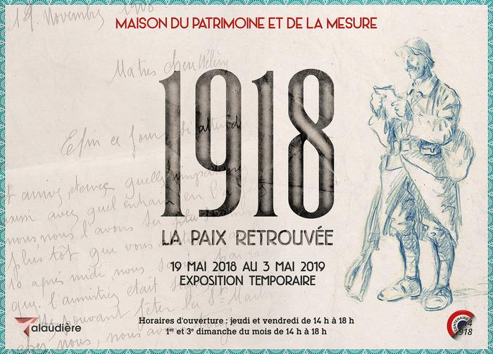Journées du patrimoine 2018 - Exposition temporaire: