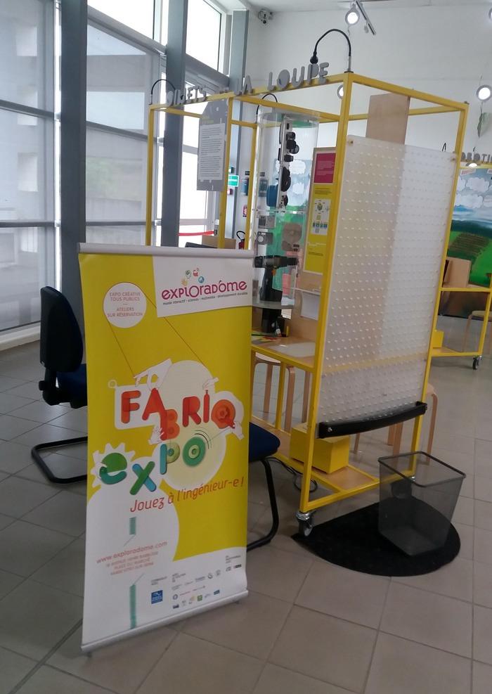 Journées du patrimoine 2018 - Visite des expositions FABRIQ EXPO ; Astronomie ;  Volcans ; le bâtiment parasismique