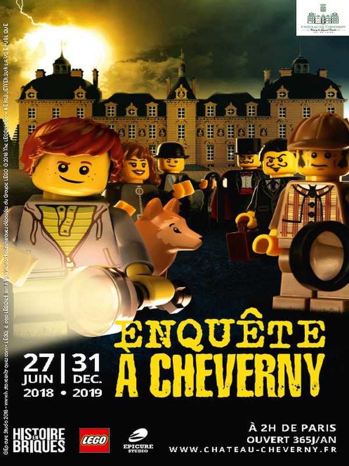 Journées du patrimoine 2018 - Visite de l'exposition LEGO : Enquête à Cheverny