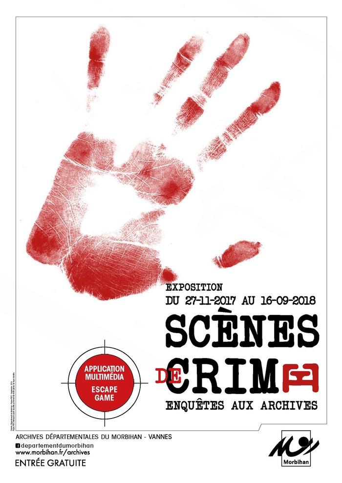Journées du patrimoine 2018 - Parcours dans l'exposition Scènes de crime : enquêtes aux Archives (application numérique et escape game)