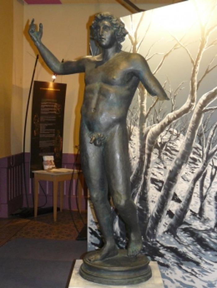 Journées du patrimoine 2018 - Visite libre de l'exposition : statue