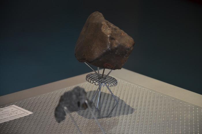 Journées du patrimoine 2018 - Exposition sur la météorite au musée de la météorite à L'Aigle