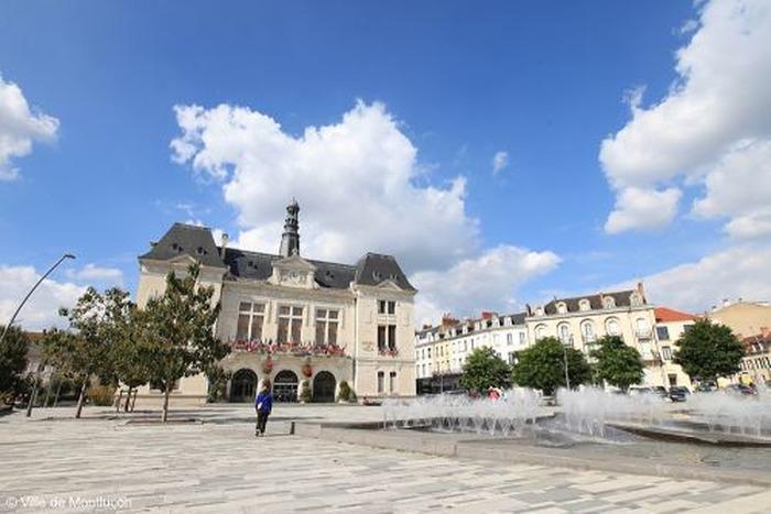 Journées du patrimoine 2018 - Visite de l'hôtel de ville de Montluçon.