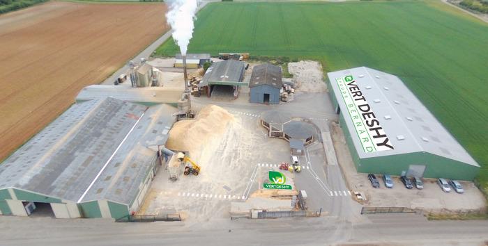 Journées du patrimoine 2018 - Visite de l'usine de production de granulés de bois.