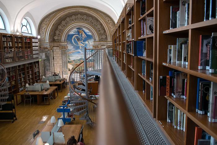 Journées du patrimoine 2018 - Visite guidée de la bibliothèque
