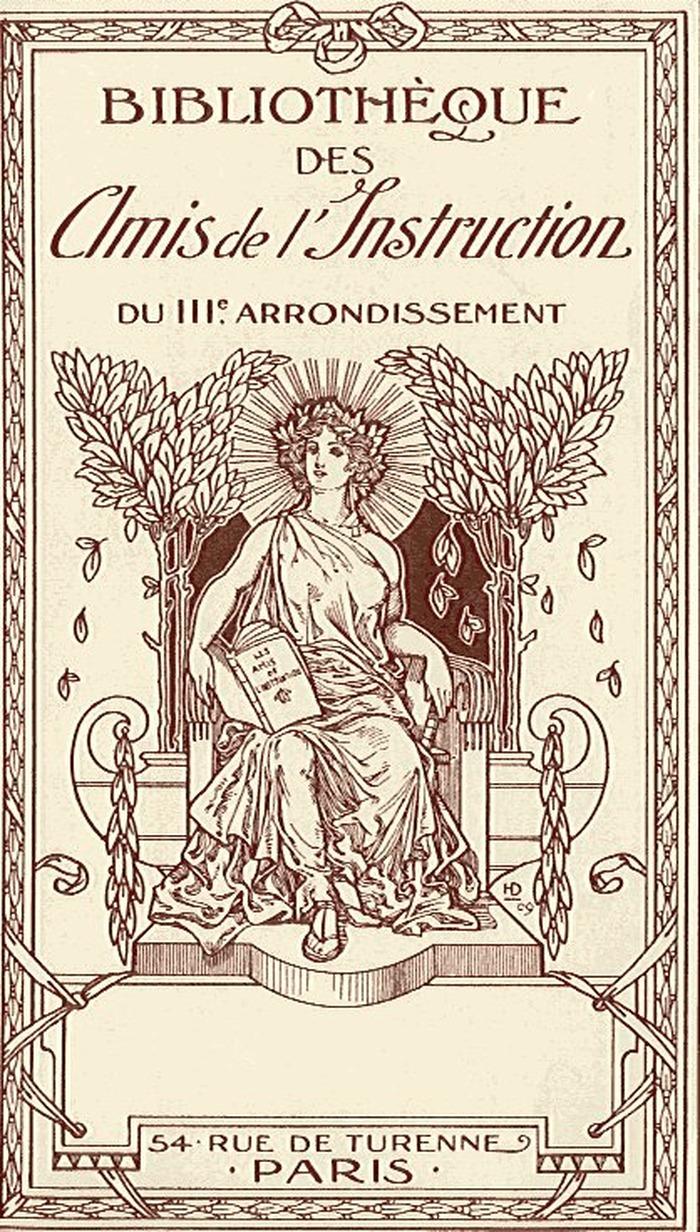 Journées du patrimoine 2018 - Visite de la Bibliothèque des Amis de l'Instruction du 3è arrondissement