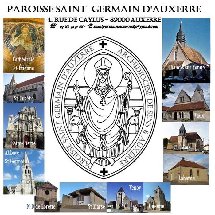 Crédits image : Logo de la Paroisse Saint-Germain d'Auxerre