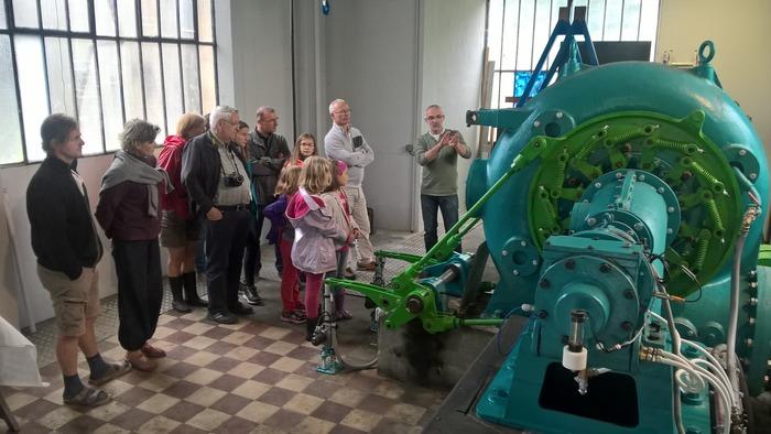 Journées du patrimoine 2018 - Visite libre de la centrale hydroélectrique, sur l'ancien site MIVA.