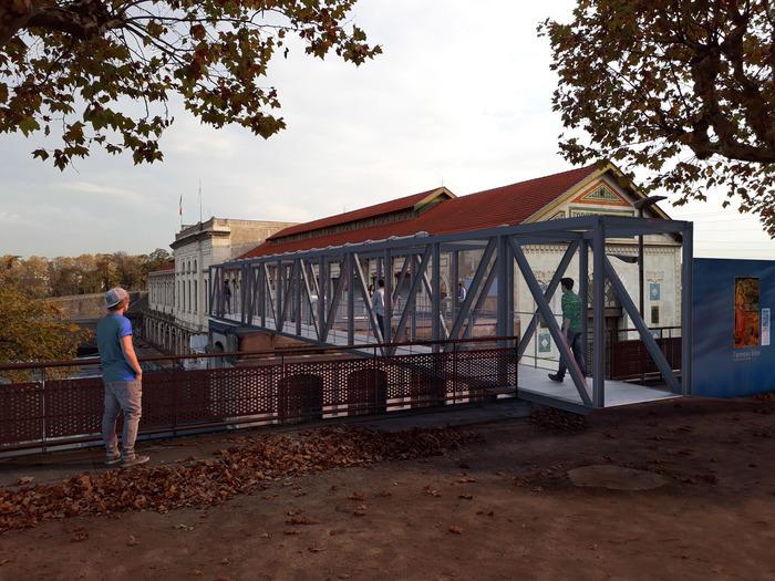 Journées du patrimoine 2018 - Visite de la centrale hydroélectrique EDF de Cusset et de son belvédère.