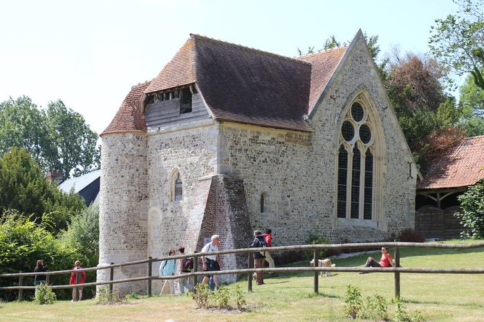 Journées du patrimoine 2018 - Visite guidée de la chapelle comportant des peintures murales de la fin du moyen âge