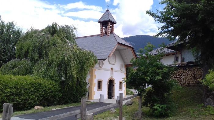 Journées du patrimoine 2018 - Visite de la chapelle des Plans.