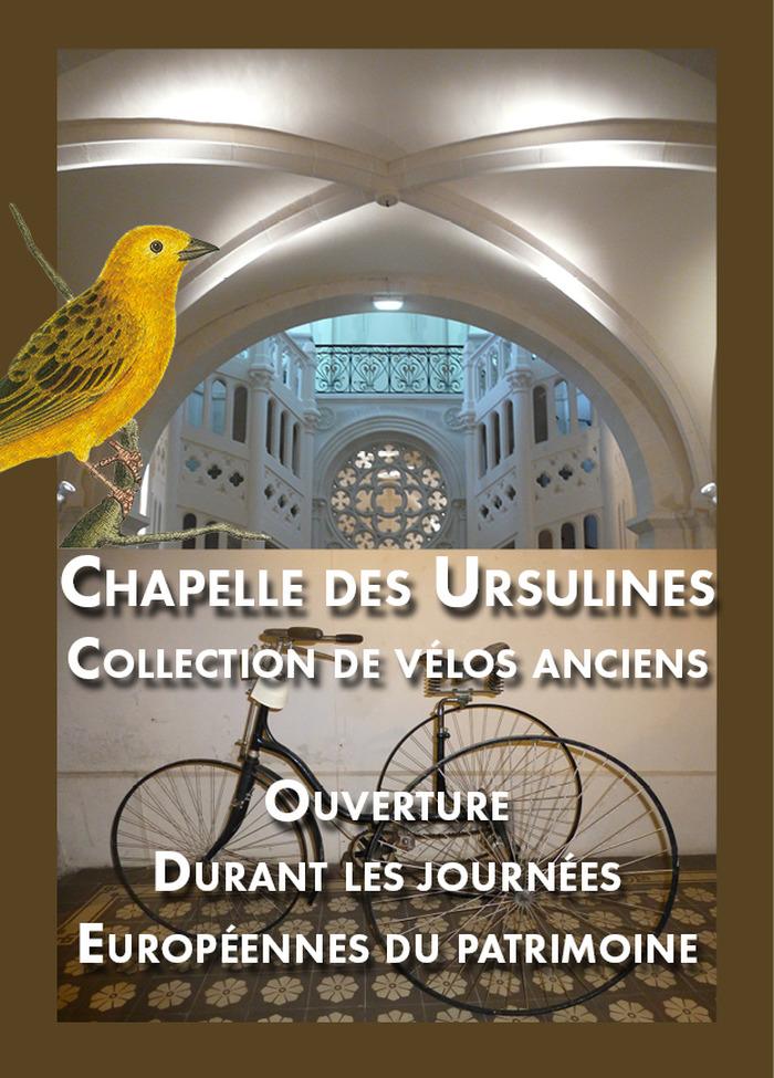 Journées du patrimoine 2018 - Visite de la Chapelle des Ursulines