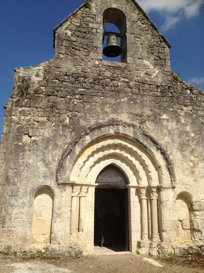 Journées du patrimoine 2018 - Visite de la chapelle romane de Cadelech sur les bords du Dropt