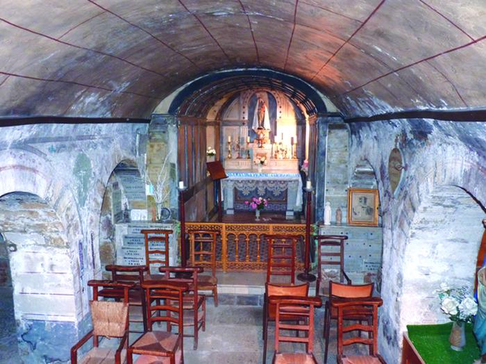 Journées du patrimoine 2017 - Visite de la crypte sous terre