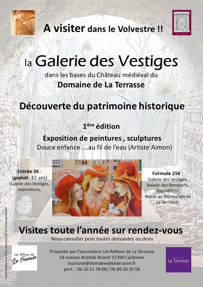 Journées du patrimoine 2018 - Visite de la galerie des vestiges