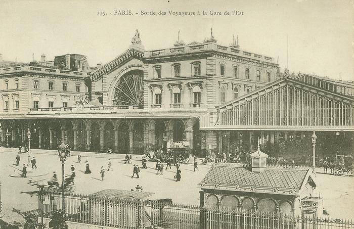 Journées du patrimoine 2018 - Visite de la gare de l'Est par Patrick Cognasson, de l'association Histoire et Vies du 10e avec le soutien de la DGCI de la SNCF