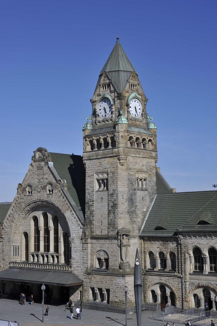 Journées du patrimoine 2018 - Visite guidée de la gare de Metz