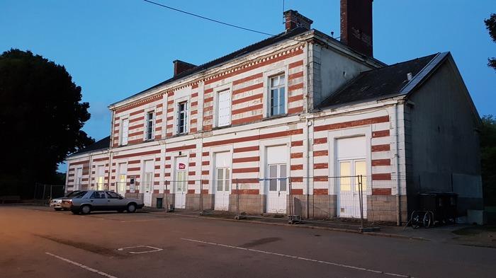 Journées du patrimoine 2018 - Visite de la gare de Pontivy (Napoléonville)