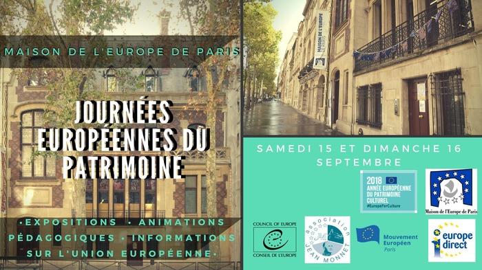 Journées du patrimoine 2018 - Visite de la Maison de l'Europe de Paris